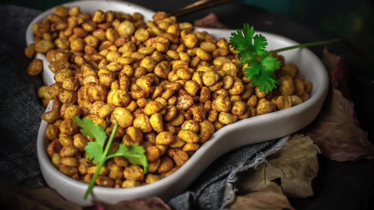 Image of the cooking step-2-6 for Chana Dal Namkeen - Crunchy Split Bengal Gram Snack