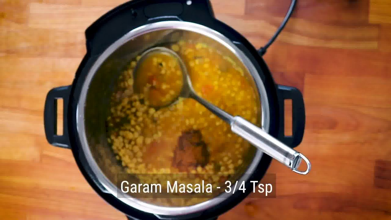 Image of the cooking step-1-14 for Chana Dal - Split Chickpea Soup (Instant Pot + Cooker)