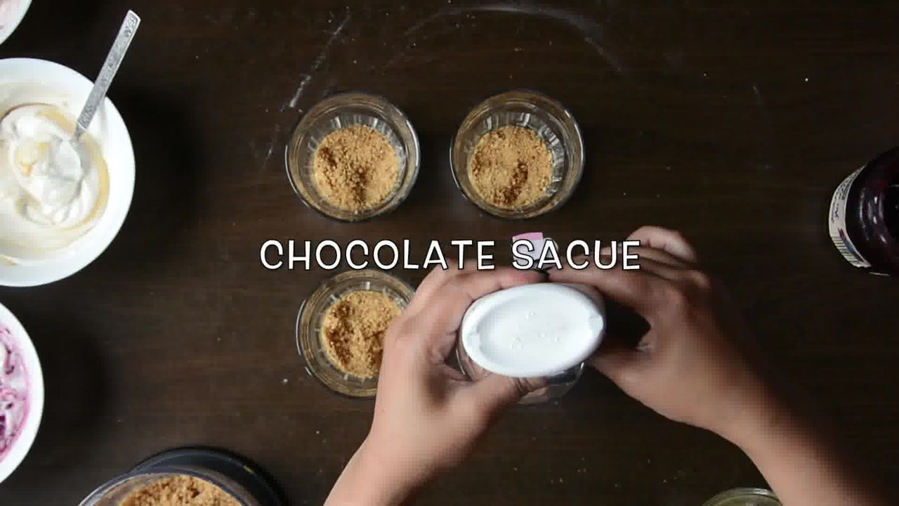 Image of the cooking step-3-3 for Cheesecake Shots – 4 Ways | Video Recipe
