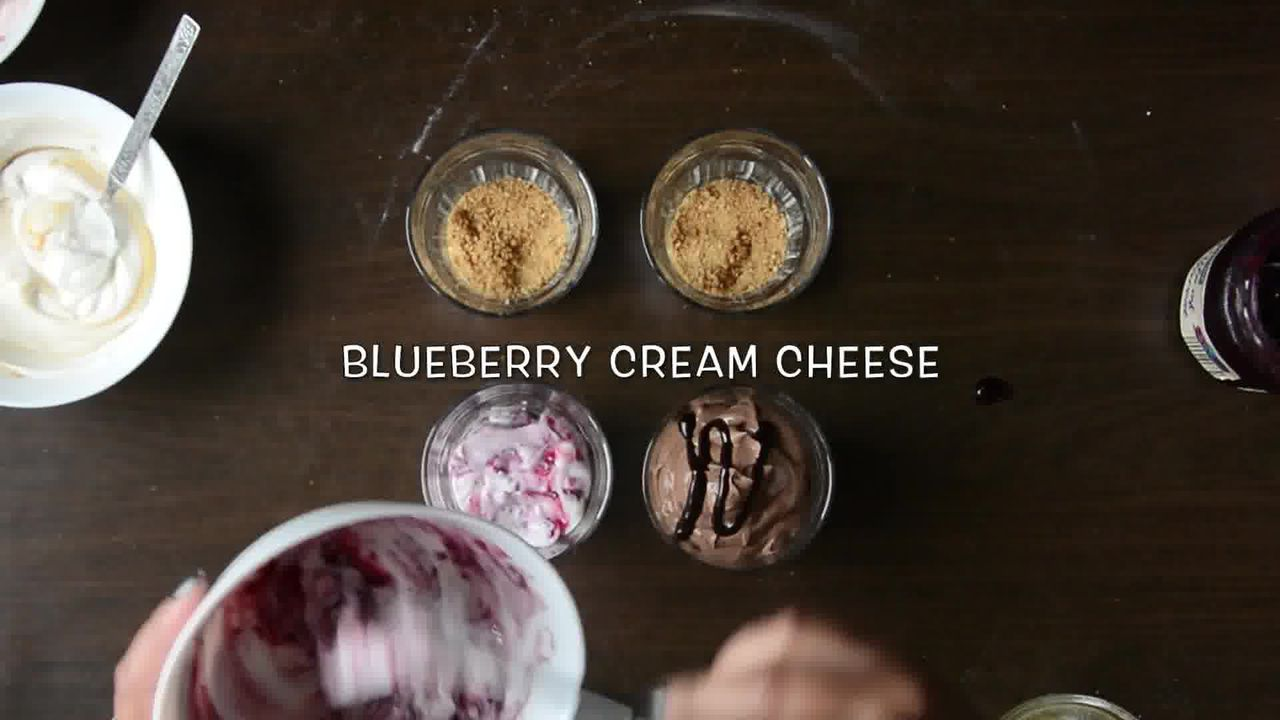Image of the cooking step-5-2 for Cheesecake Shots – 4 Ways | Video Recipe