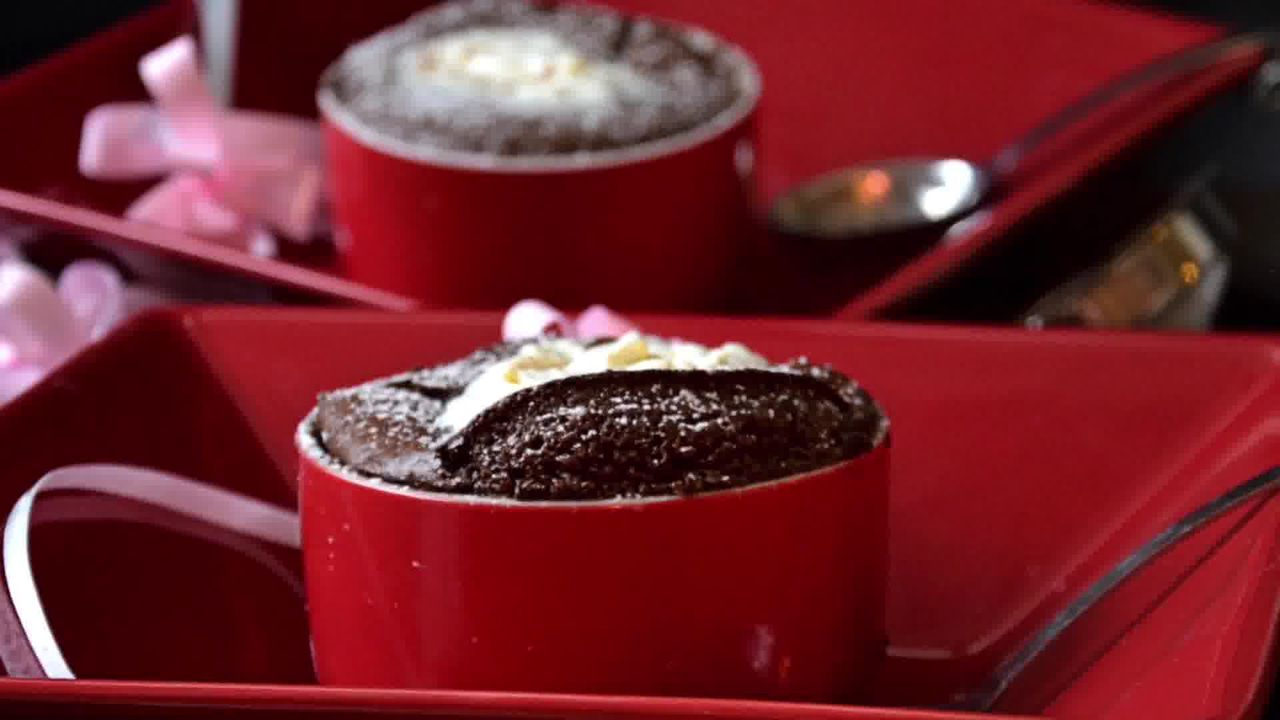Image of the cooking step-1-16 for Chocolate Souffle (Video)