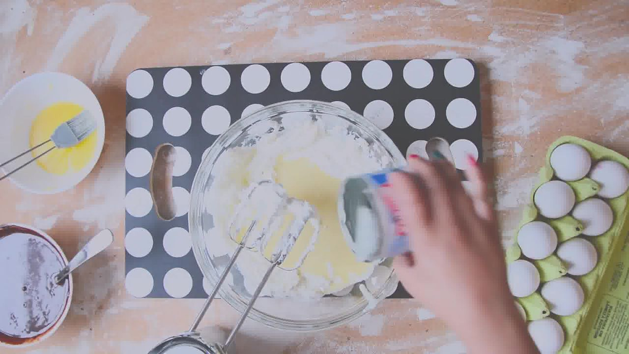 Image of the cooking step-2-5 for Chocolate Cheesecake