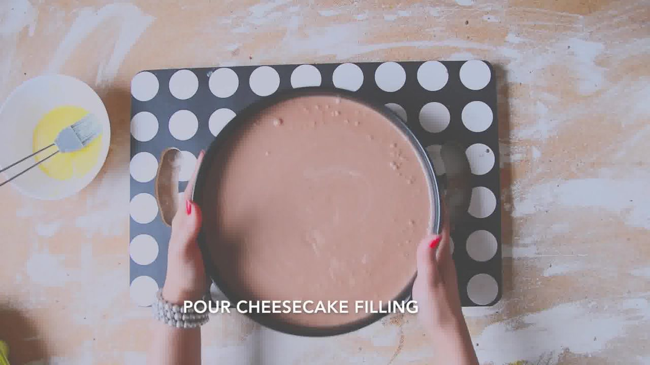 Image of the cooking step-3-1 for Chocolate Cheesecake