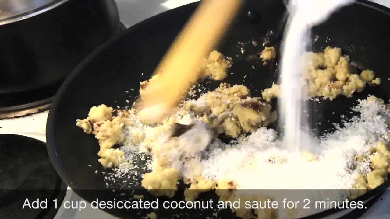 Image of the cooking step-1-3 for Chocolate Coconut Delights