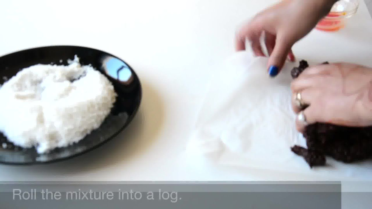 Image of the cooking step-1-8 for Chocolate Coconut Delights