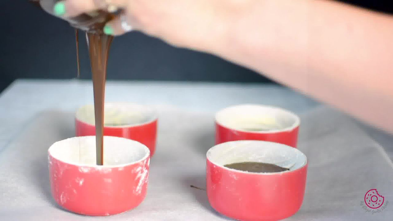 Image of the cooking step-4-2 for Chocolate Lava Cake