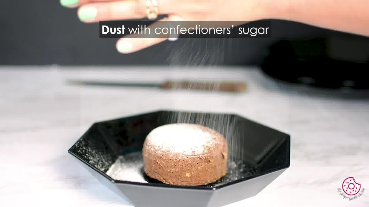 Image of the cooking step-4-6 for Chocolate Lava Cake
