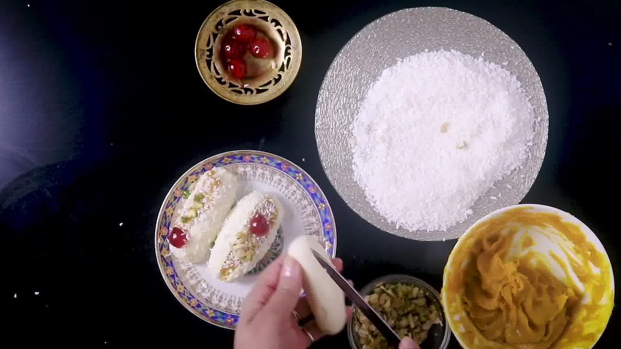 Image of the cooking step-7-1 for Chum Chum Recipe - Bengali Sweet Chomchom
