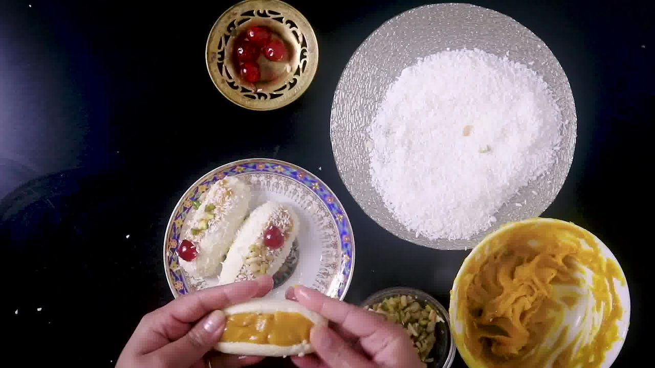 Image of the cooking step-7-2 for Chum Chum Recipe - Bengali Sweet Chomchom