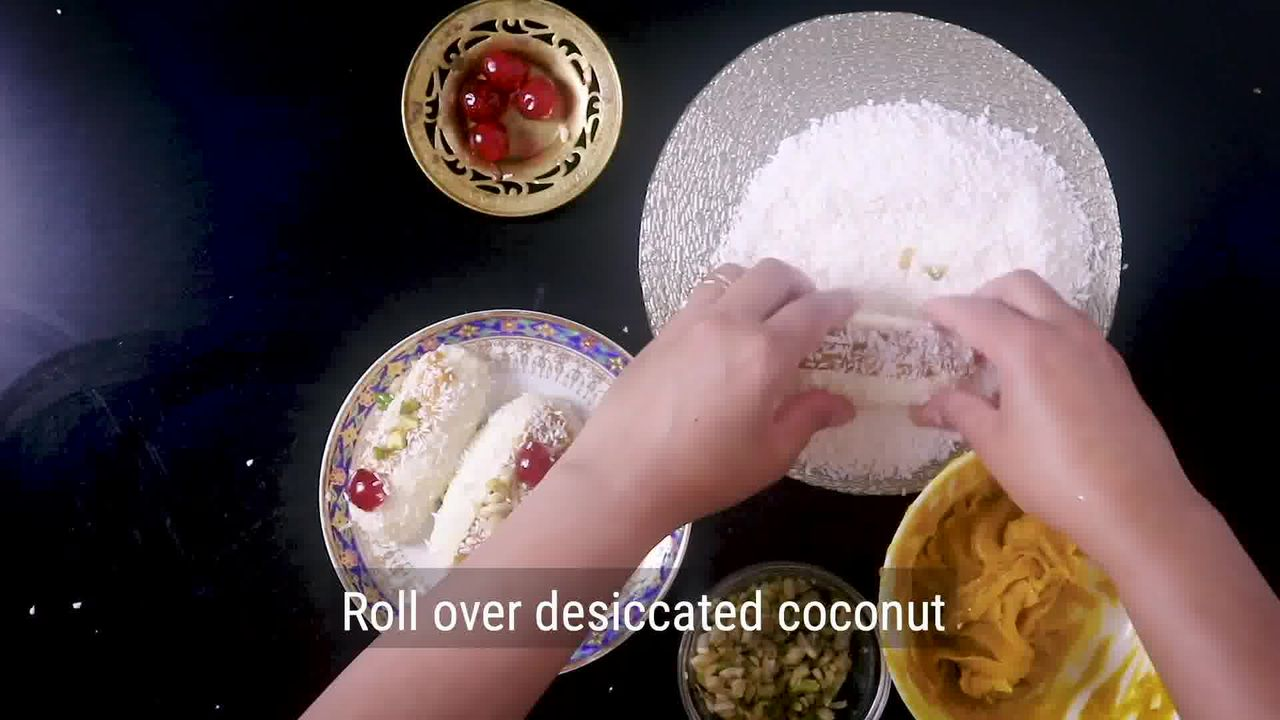 Image of the cooking step-7-3 for Chum Chum Recipe - Bengali Sweet Chomchom