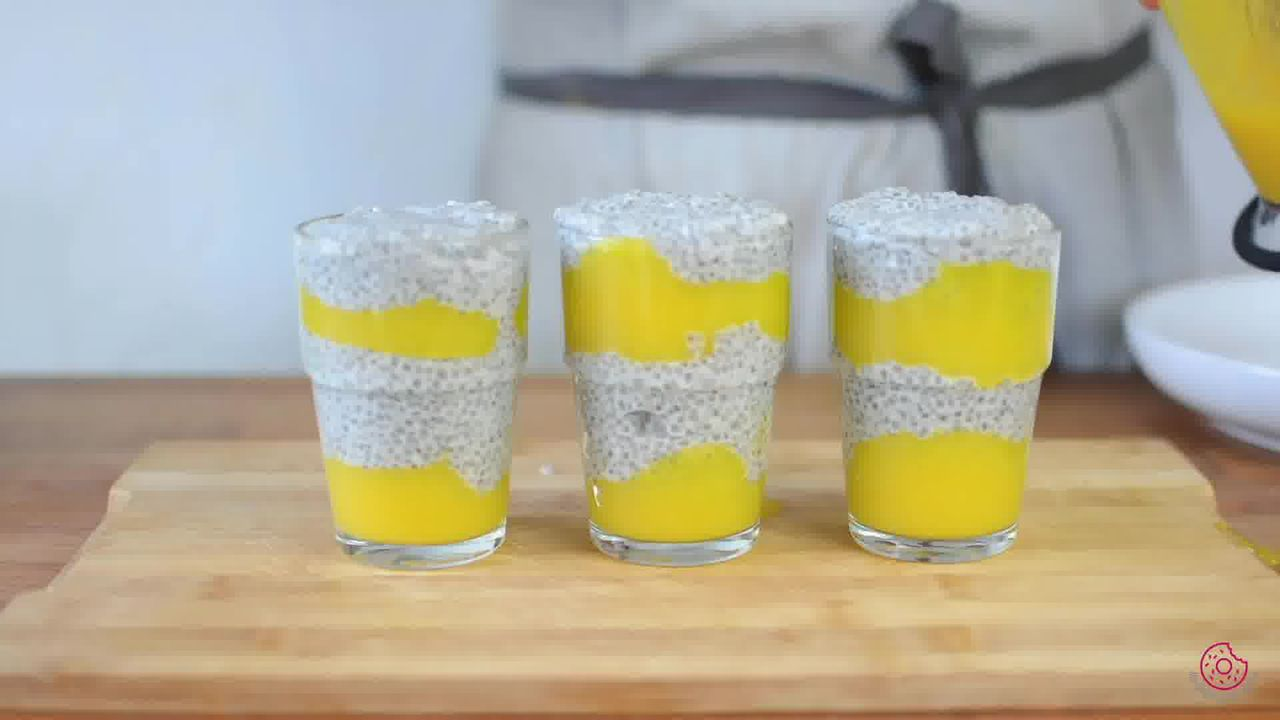 Image of the cooking step-3-5 for Coconut Mango Chia Pudding