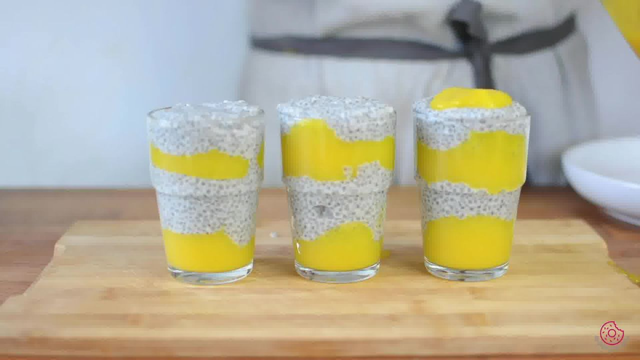 Image of the cooking step-3-6 for Coconut Mango Chia Pudding