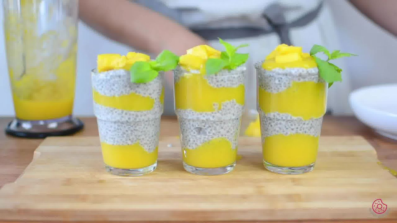 Image of the cooking step-3-7 for Coconut Mango Chia Pudding