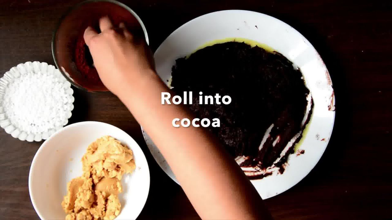 Image of the cooking step-1-11 for Peanut Butter Coconut Truffle