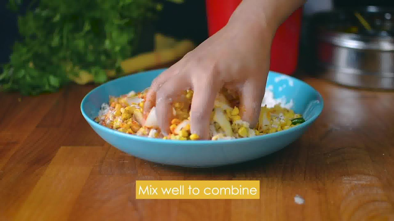 Image of the cooking step-1-9 for Corn Pakora - Quick and Easy Corn Fritters