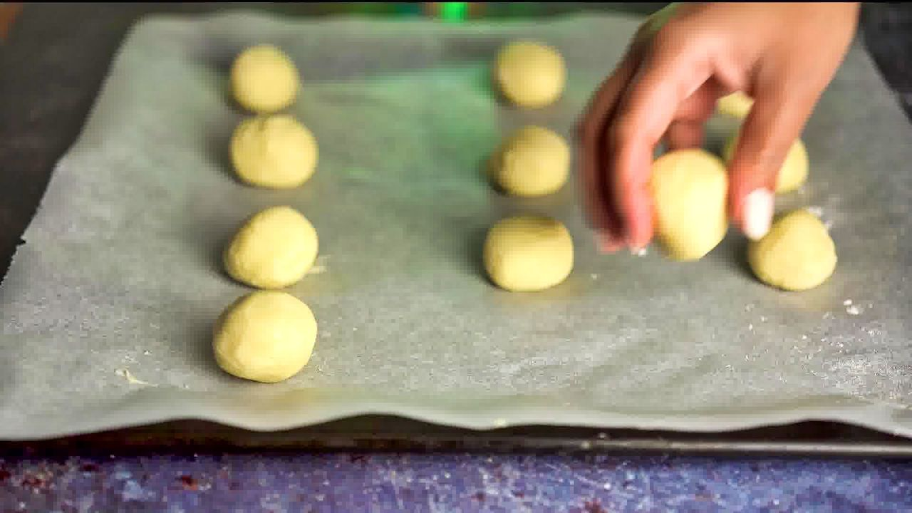 Image of the cooking step-1-11 for Cream Cheese Cookies