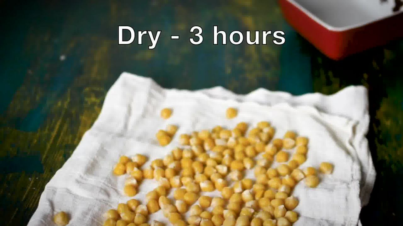 Image of the cooking step-3-2 for Crispy Fried Chana Masala - Crunchy Crispy Chickpeas