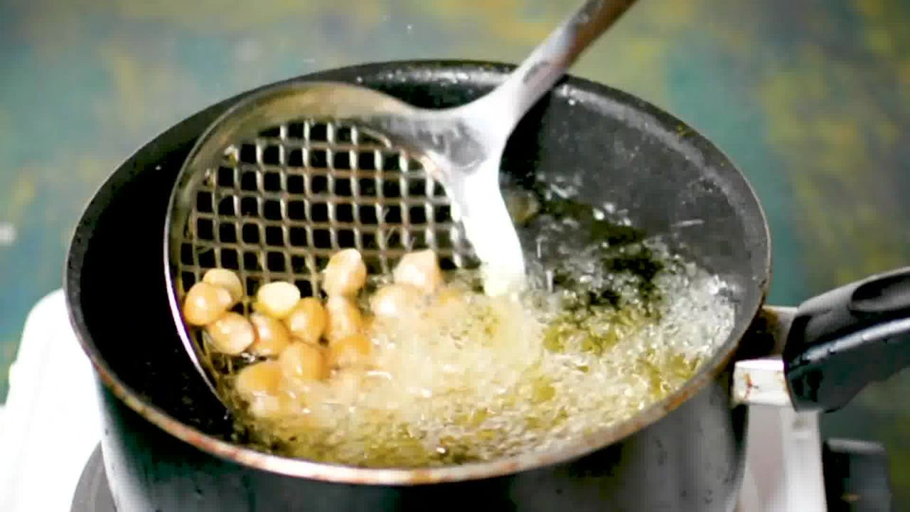 Image of the cooking step-4-1 for Crispy Fried Chana Masala - Crunchy Crispy Chickpeas
