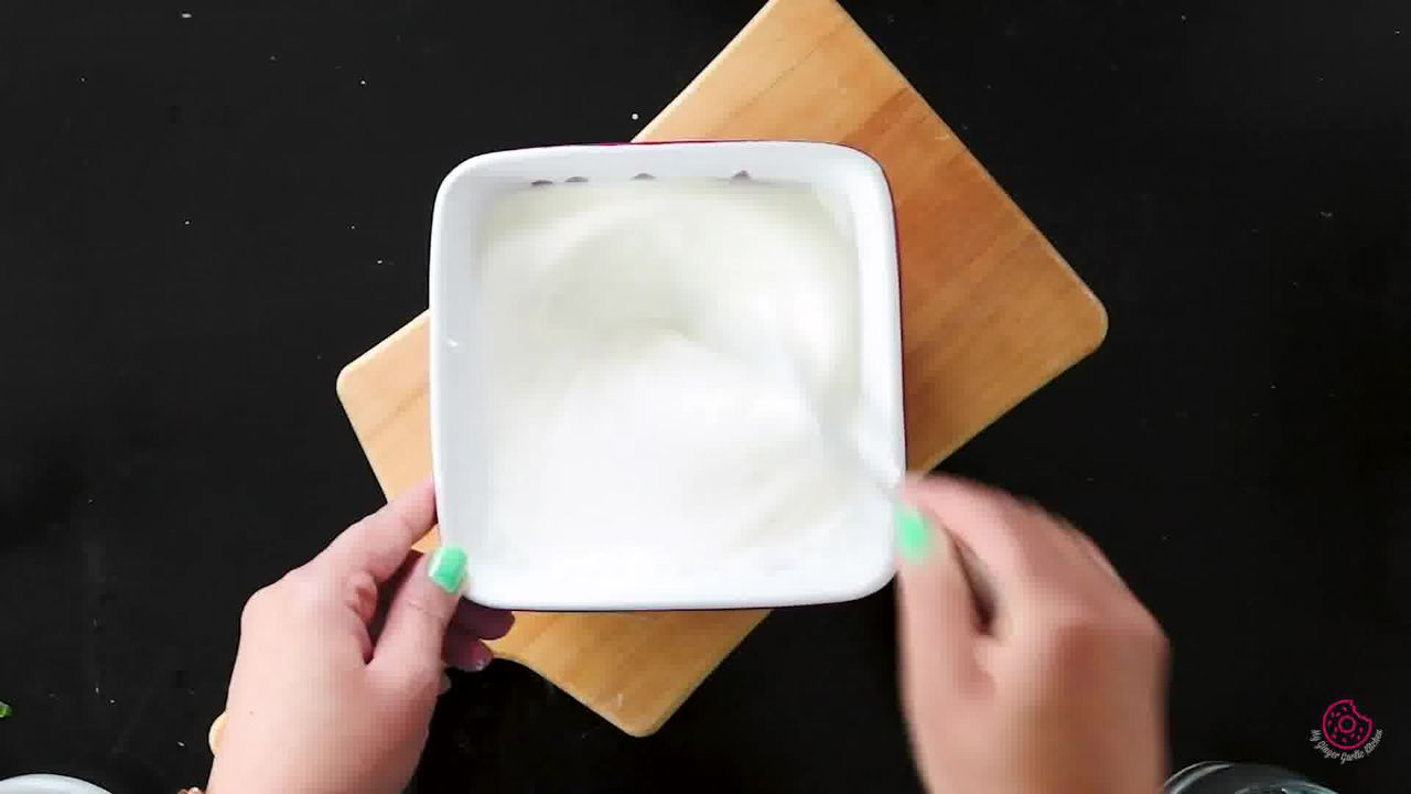 Image of the cooking step-1-3 for Cucumber Raita -  Kheere Ka Raita