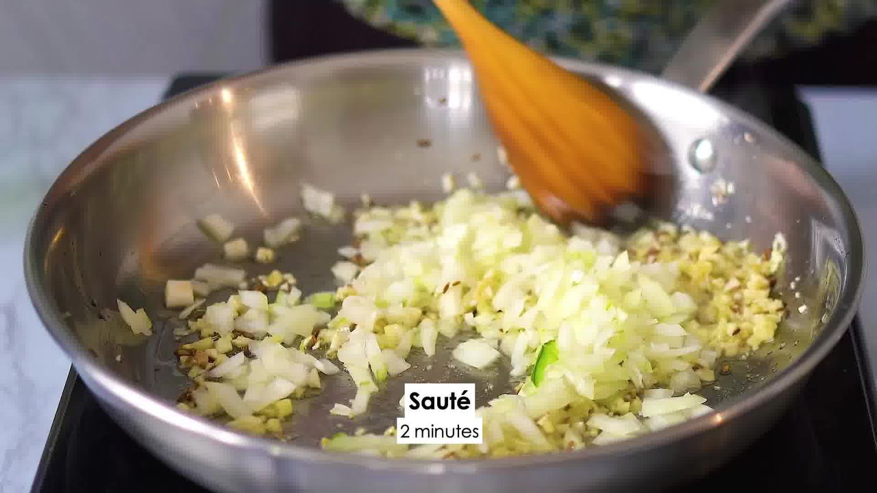 Image of the cooking step-2-7 for Dal Palak - Spinach Dal