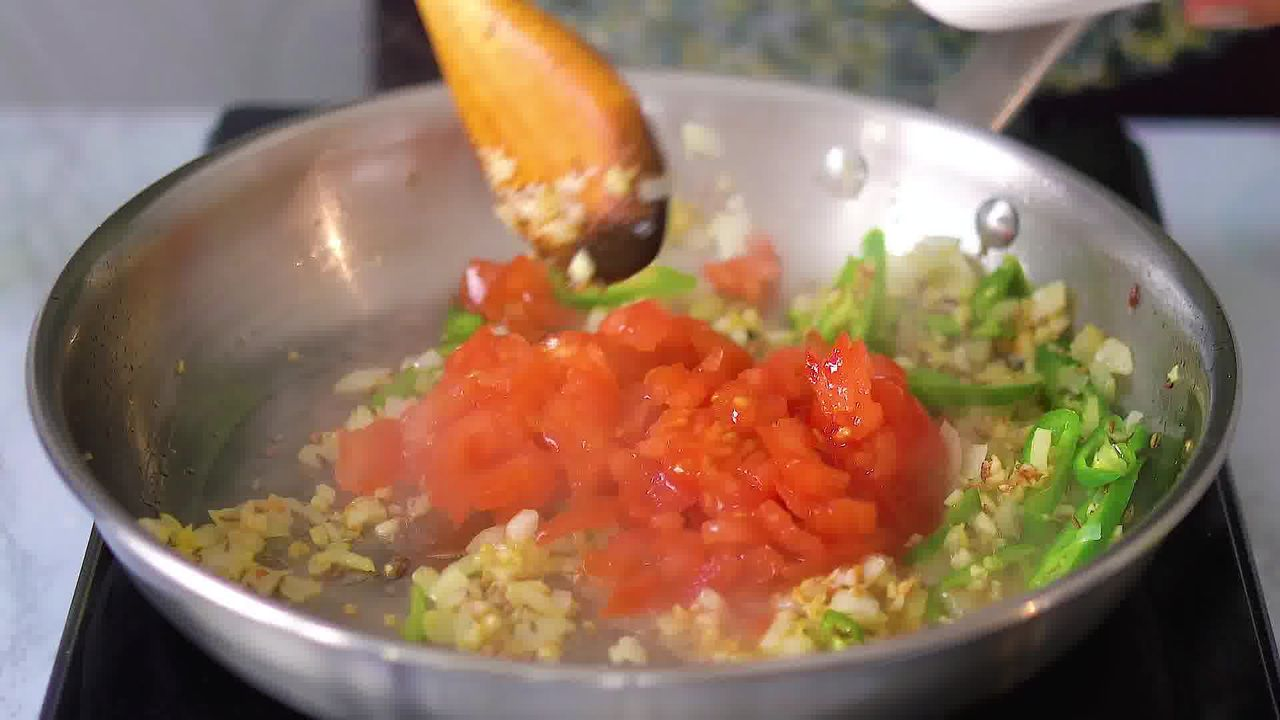 Image of the cooking step-2-9 for Dal Palak - Spinach Dal