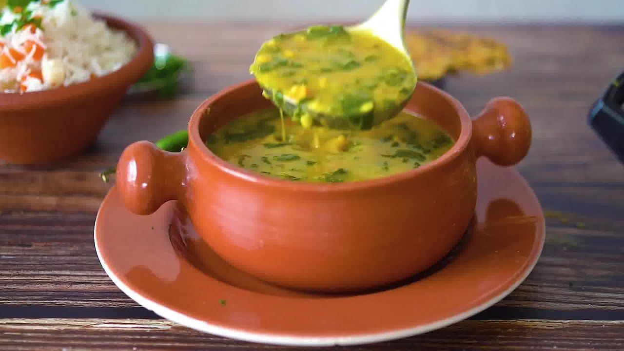 Image of the cooking step-5-1 for Dal Palak - Spinach Dal