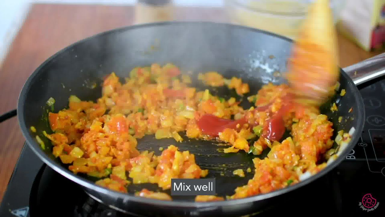 Image of the cooking step-1-9 for Egg Bhurji