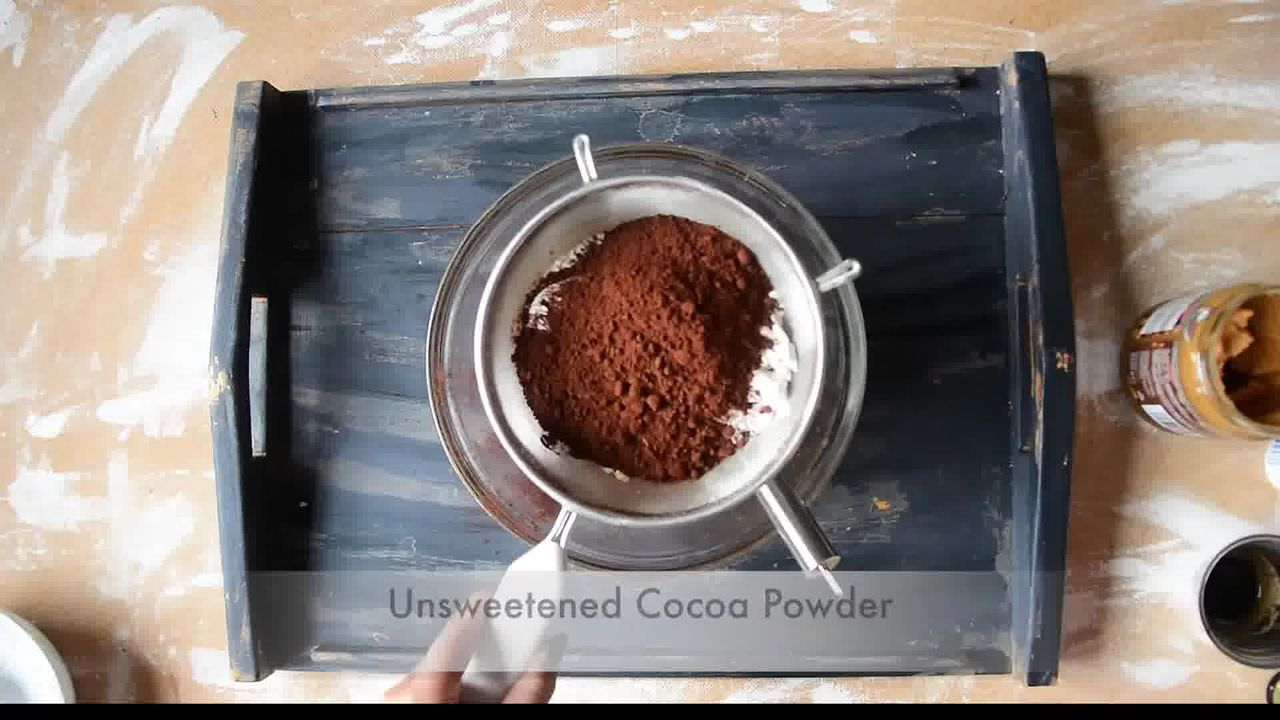 Image of the cooking step-1-5 for Eggless Banana Peanut Butter Chocolate Brownies