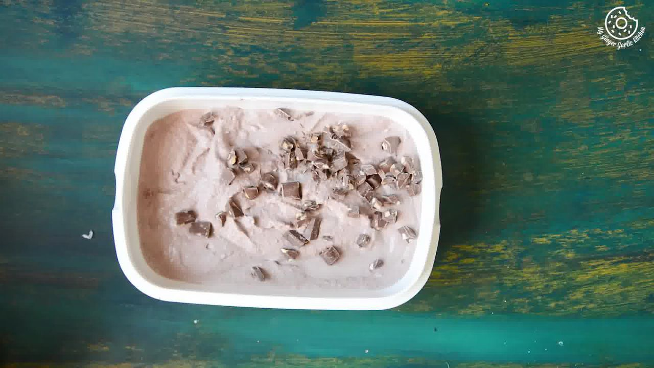 Image of the cooking step-1-6 for Eggless Chocolate Hazelnut Ice Cream