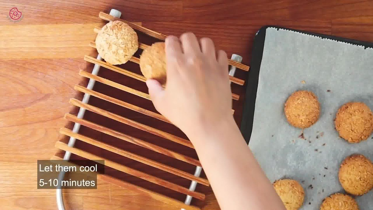 Image of the cooking step-1-13 for Eggless Coconut Cookies