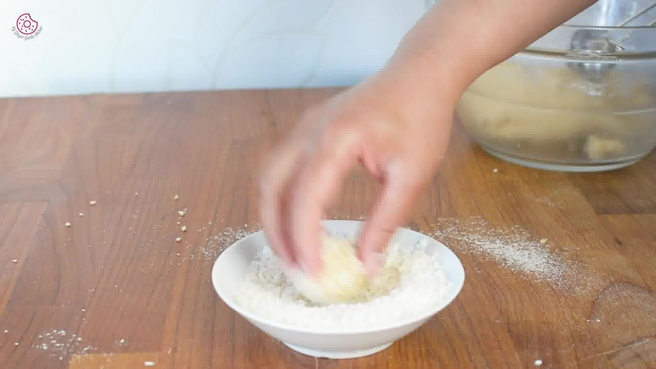Image of the cooking step-1-8 for Eggless Coconut Cookies