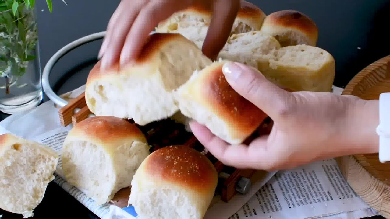 Image of the cooking step-2-6 for Ladi Pav - Soft and Fluffy Dinner Rolls