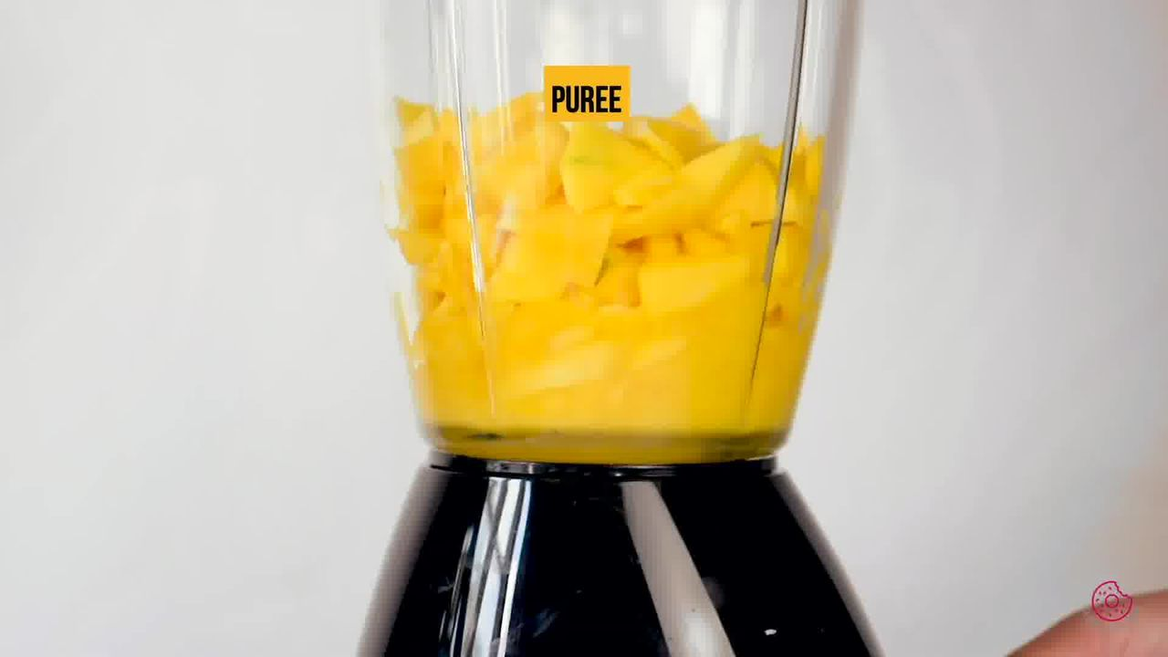 Image of the cooking step-1-2 for Eggless Mango Mousse