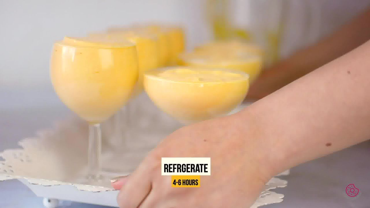 Image of the cooking step-2-10 for Eggless Mango Mousse