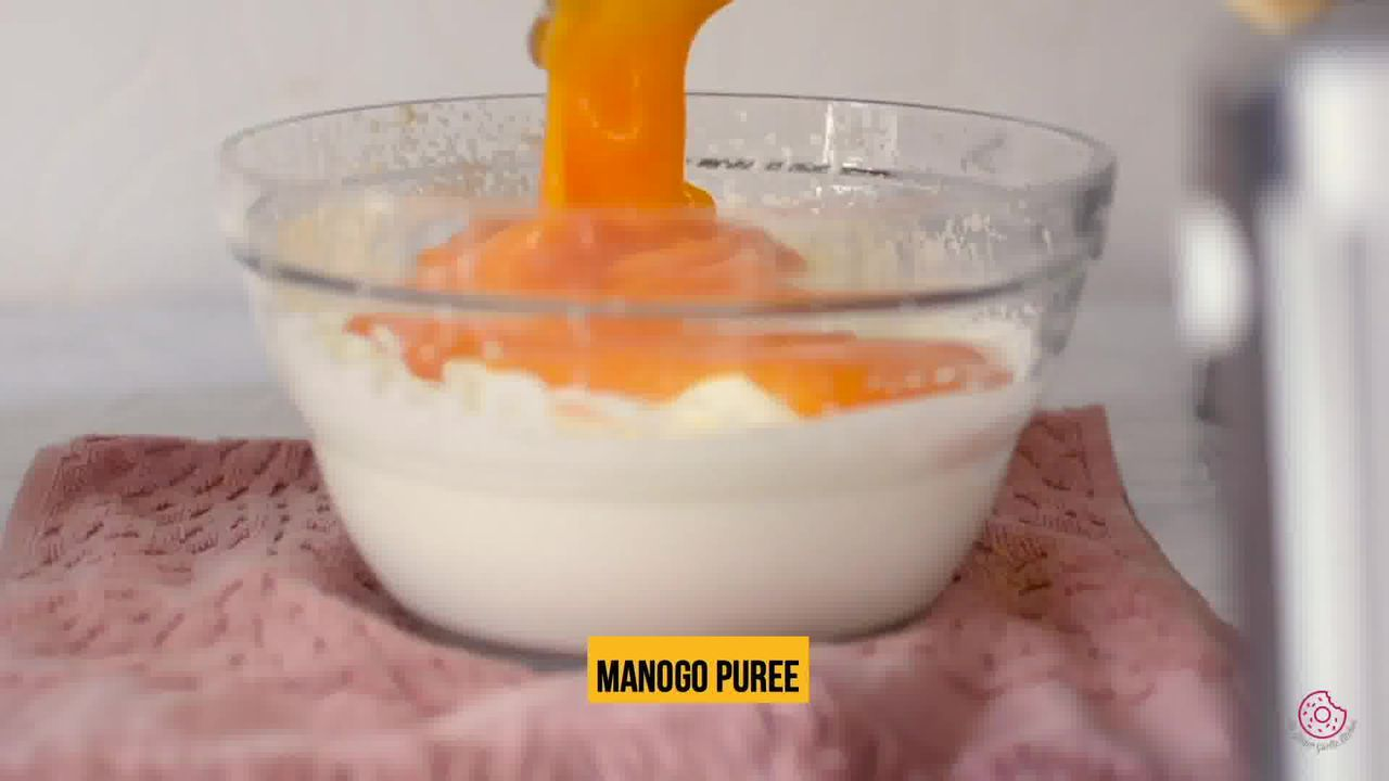 Image of the cooking step-2-7 for Eggless Mango Mousse