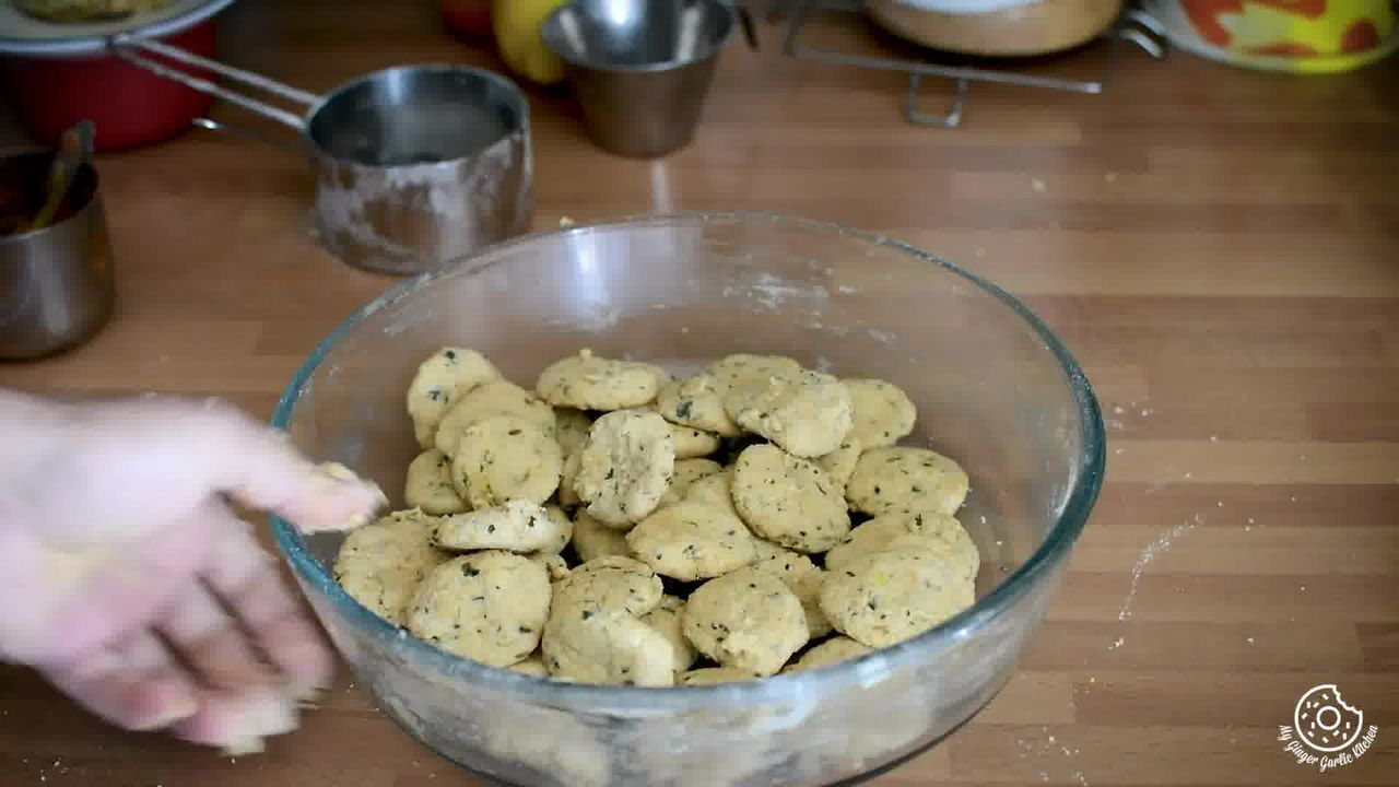 Image of the cooking step-1-4 for Rajasthani Dal Dhokli - Dumplings Cooked in Lentils