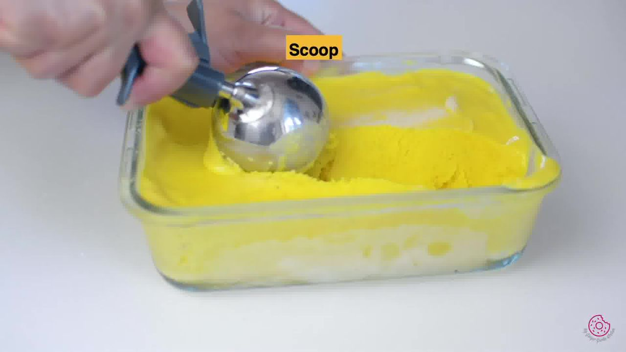 Image of the cooking step-1-12 for Frozen Mango Yogurt