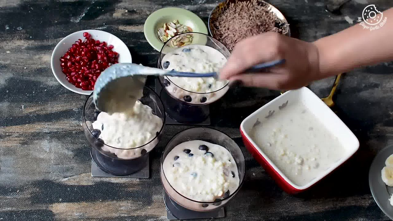 Image of the cooking step-1-3 for Fruit Cream Rice Kheer Recipe - Indian Kheer Pudding