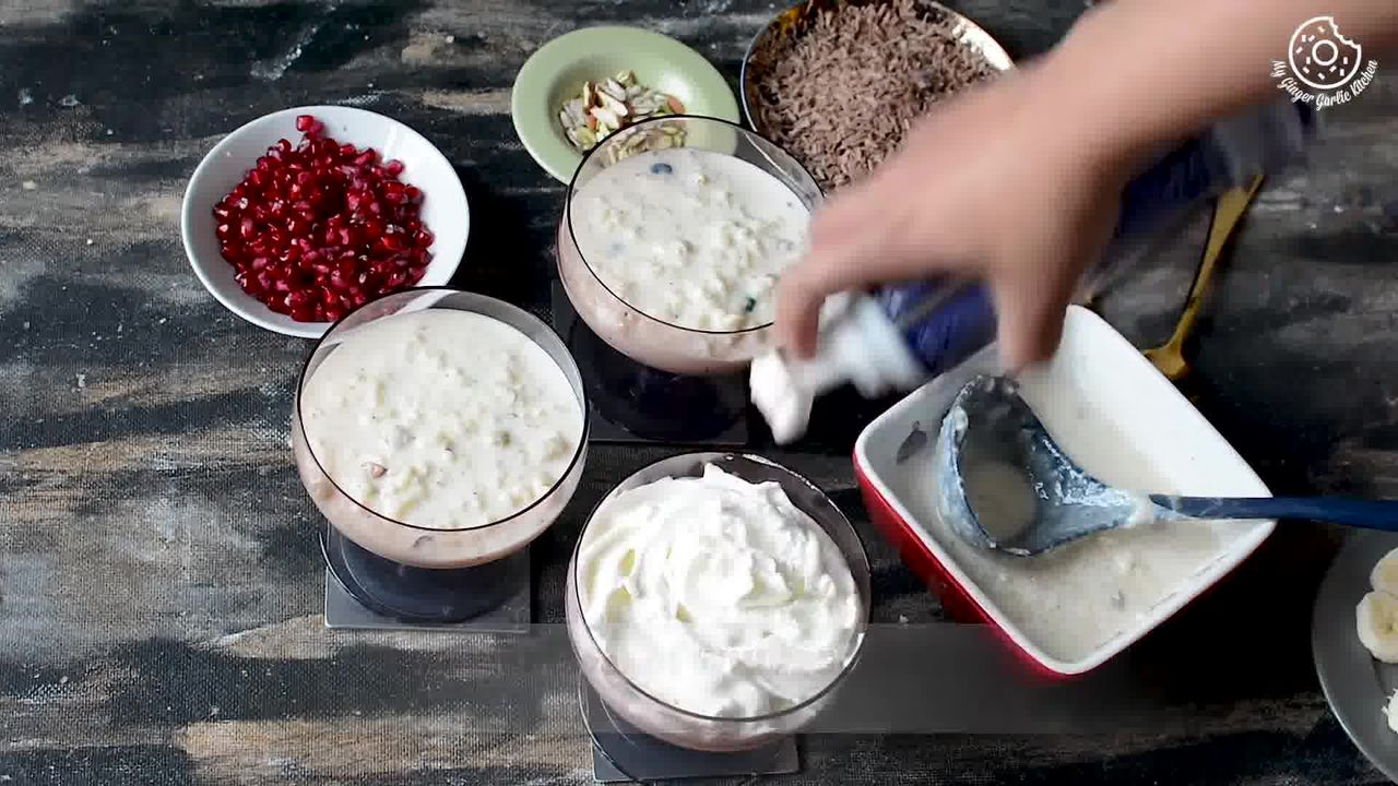 Image of the cooking step-1-4 for Fruit Cream Rice Kheer Recipe - Indian Kheer Pudding