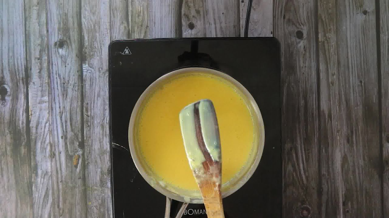 Image of the cooking step-1-11 for Fruit Custard