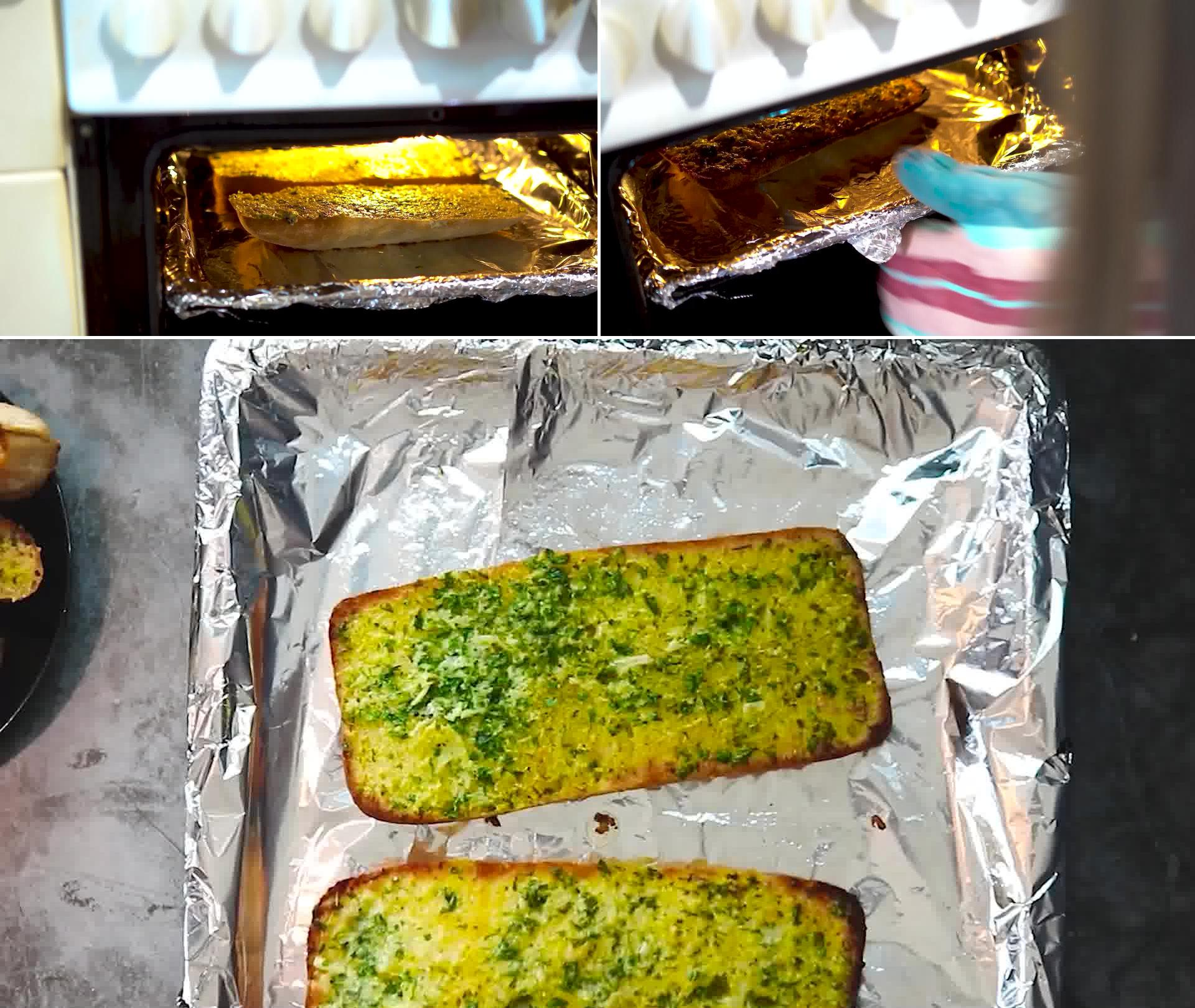 Image of the cooking step-1-7 for Garlic Bread - Homemade Garlic Bread
