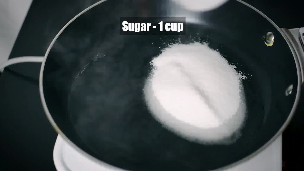 Image of the cooking step-2-1 for Mysore Pak - How to Make South Indian Ghee Mysore Pak