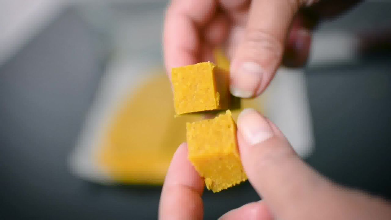 Image of the cooking step-3-11 for Mysore Pak - How to Make South Indian Ghee Mysore Pak