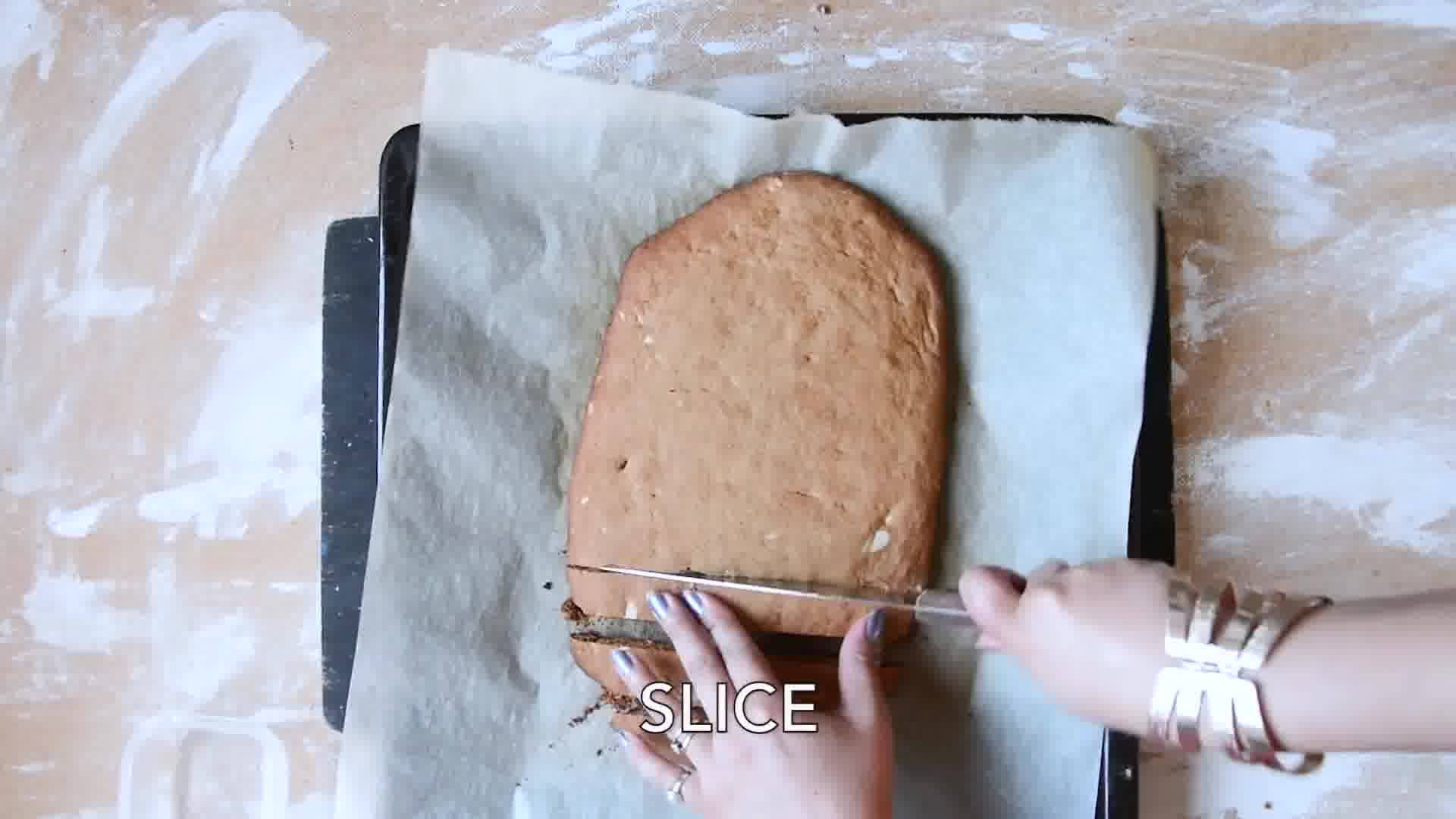 Image of the cooking step-1-11 for Gingerbread Biscotti Recipe