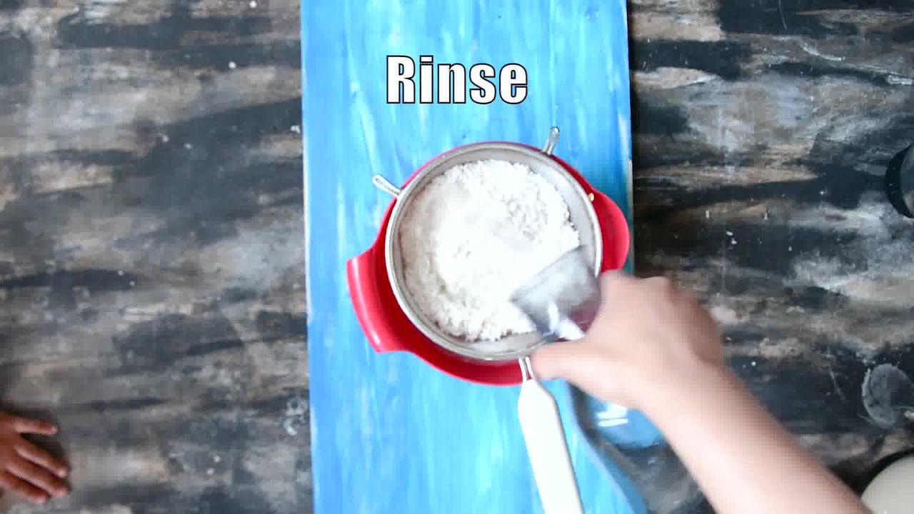 Image of the cooking step-1-2 for Goan Sanna - Mangalorean Idlis - Goan Steamed Rice Cake