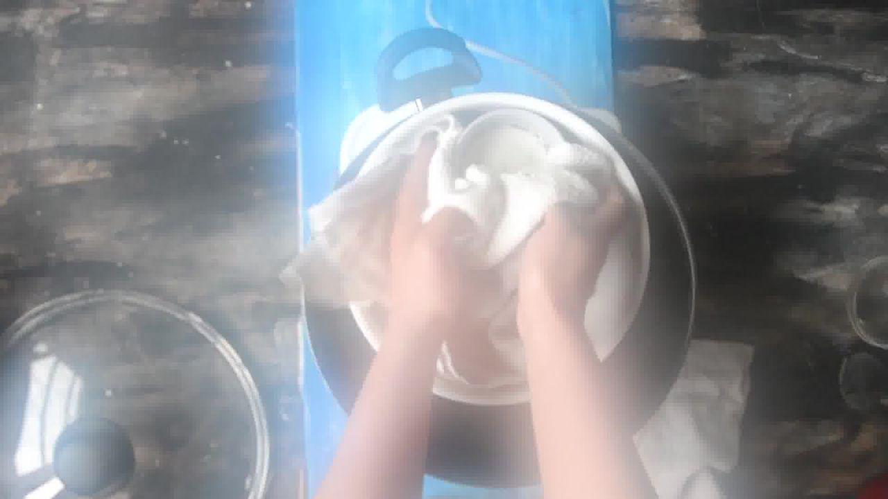 Image of the cooking step-2-7 for Goan Sanna - Mangalorean Idlis - Goan Steamed Rice Cake