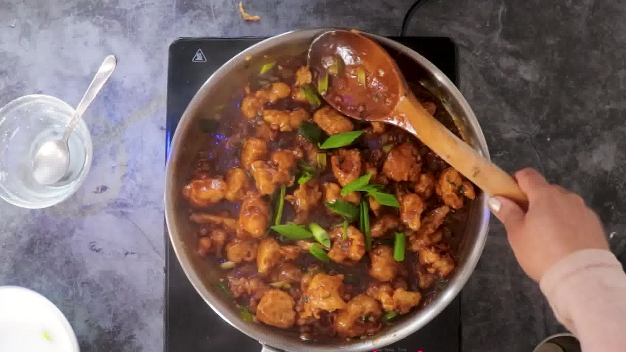 Image of the cooking step-6-12 for Gobi Manchurian Recipe