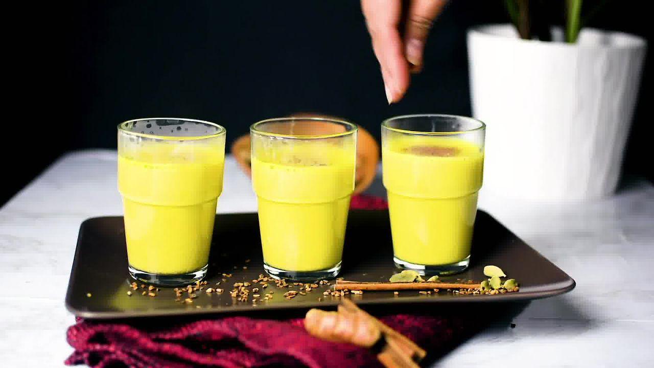 Image of the cooking step-1-10 for Golden Milk - Turmeric Milk - Haldi Doodh