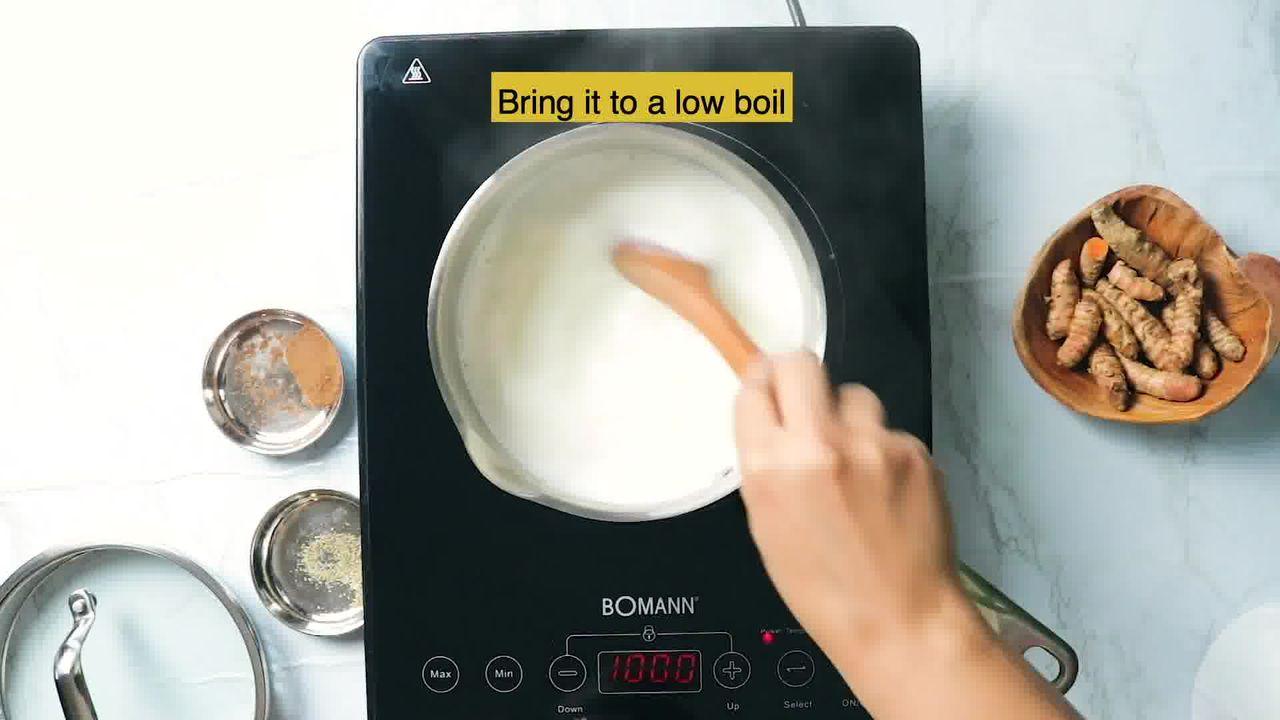 Image of the cooking step-1-2 for Golden Milk - Turmeric Milk - Haldi Doodh