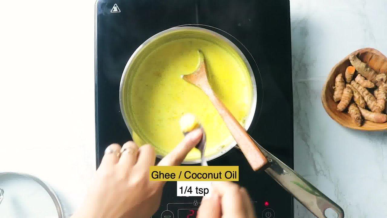 Image of the cooking step-1-6 for Golden Milk - Turmeric Milk - Haldi Doodh
